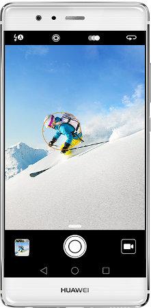 huawei P9 front smartfon