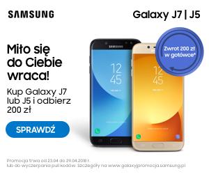 samsung galaxy j7 i j5 odbierz 200 zł w gotówce