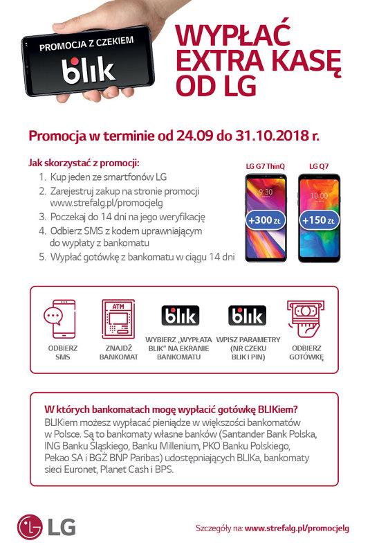instrukcja wypłaty gotówka od lg g7 smartfony