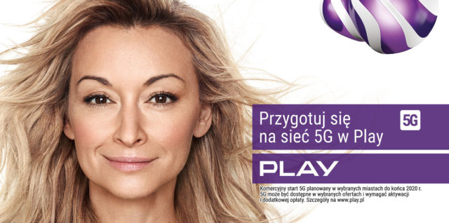martyna wojciechowska dla play promo 5G