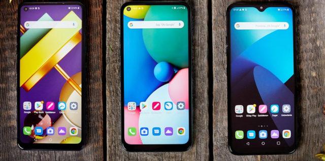 smartfony lg seria k 2020