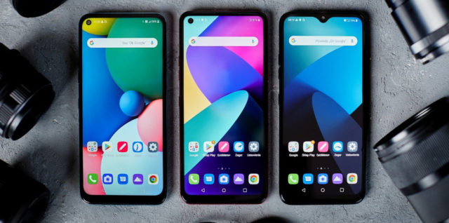 lg k61 seria budżetowych smartfonów
