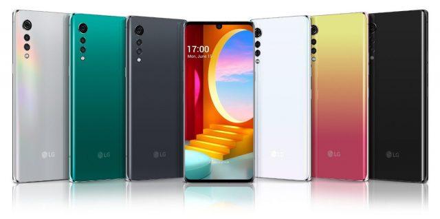 lg velvet koloroystyka telefonu obudowy obsługa sieci 5G w play plus i orange