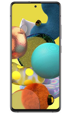 widok z przodu samsung galaxy a51 5g ekran kolorowy