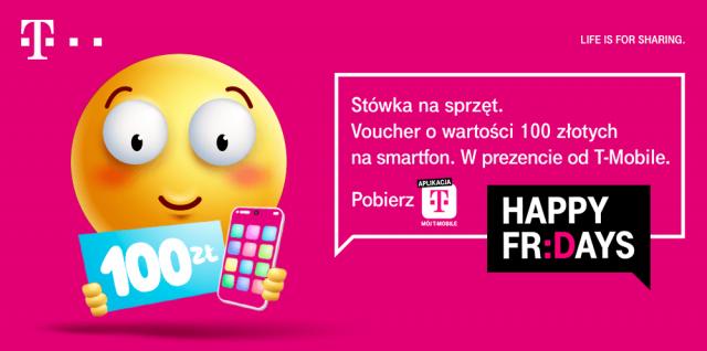 kod rabatowy 100 zł zniżki na smartfony w t-mobile wybierz abonament z umową na dwa lata