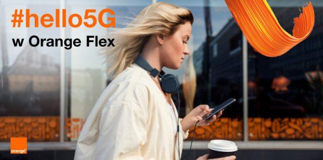 5g w orange flex