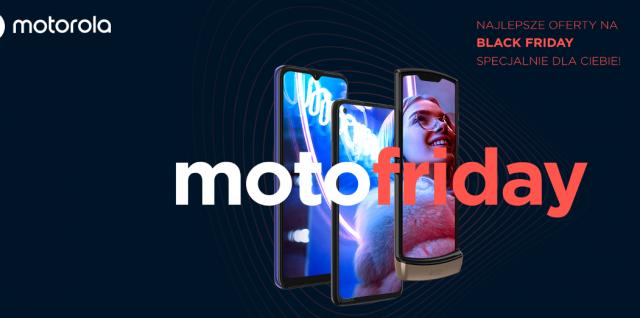 promocja motofriday smartfony motorola black friday