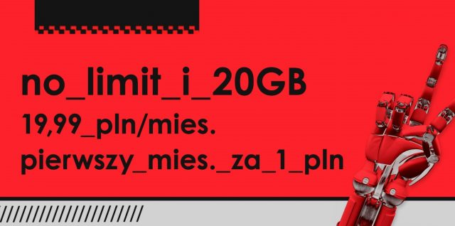 nowa heyah 01 subskrypcja no limit 20 gb internet za 19,99 zł