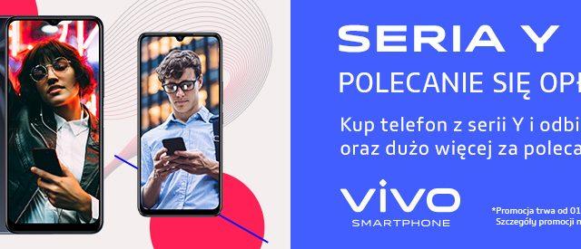 promocja vivoodbierz premię za zakup smartfona Y70, Y20s i Y11 s do 150 zł
