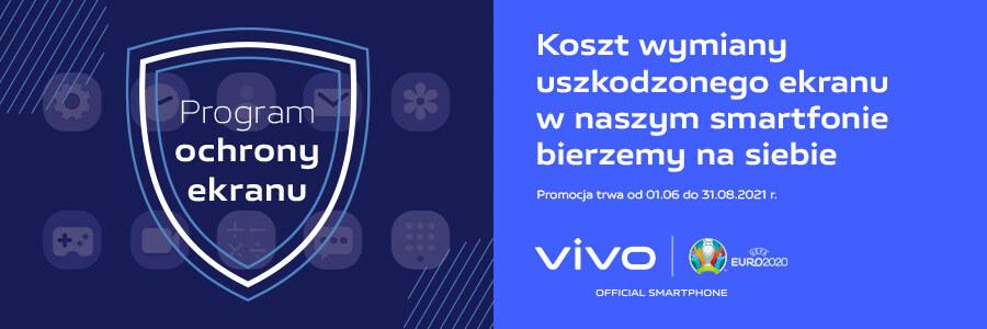 program ochrony ekranu dotyczy wszystkich smartfonów vivo
