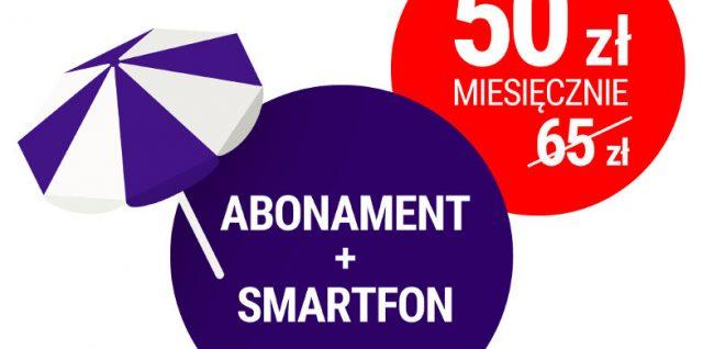 play promocja wakacyjna abonament i smartfon dla przenoszących numer za 50 zł miesięcznie
