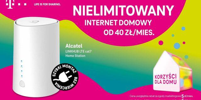 nielimitowany internet domowy w t-mobile promocja
